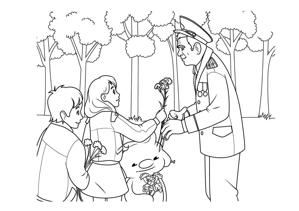 Картинки рисунки карандашом ко дню победы