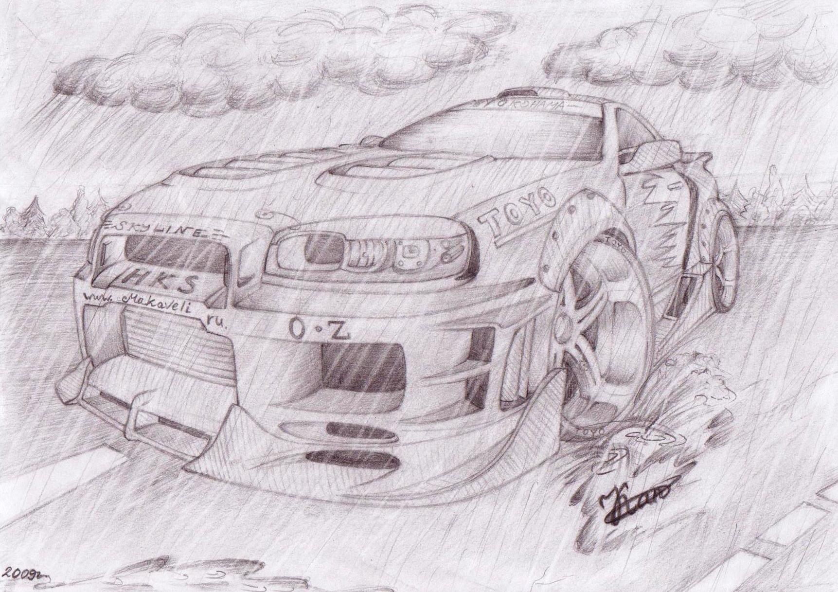 Машины для рисунка карандашом