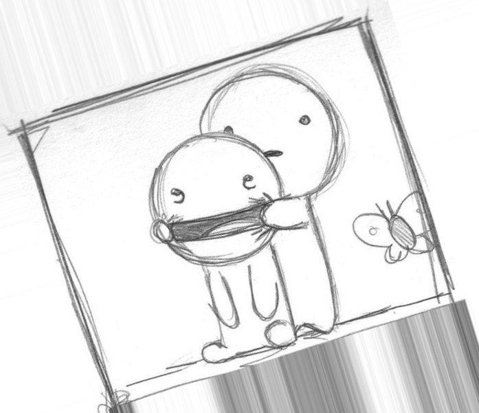 Смешные рисунки нарисованные с карандашом