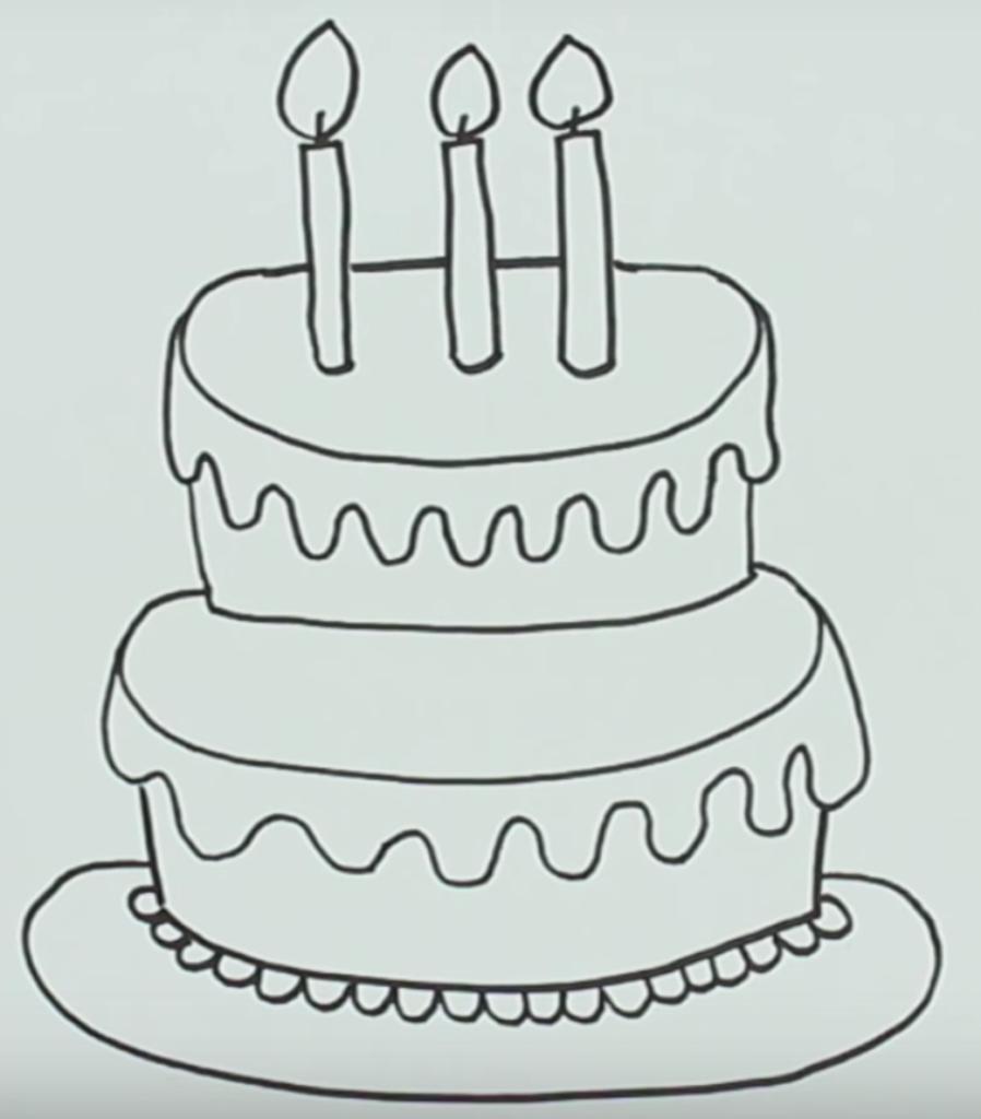 Простые нарисованные картинки с днем рождения, поздравлением татьяны поздравление