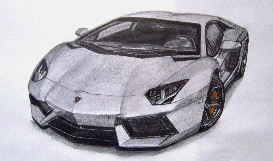 Крутые нарисованные машины
