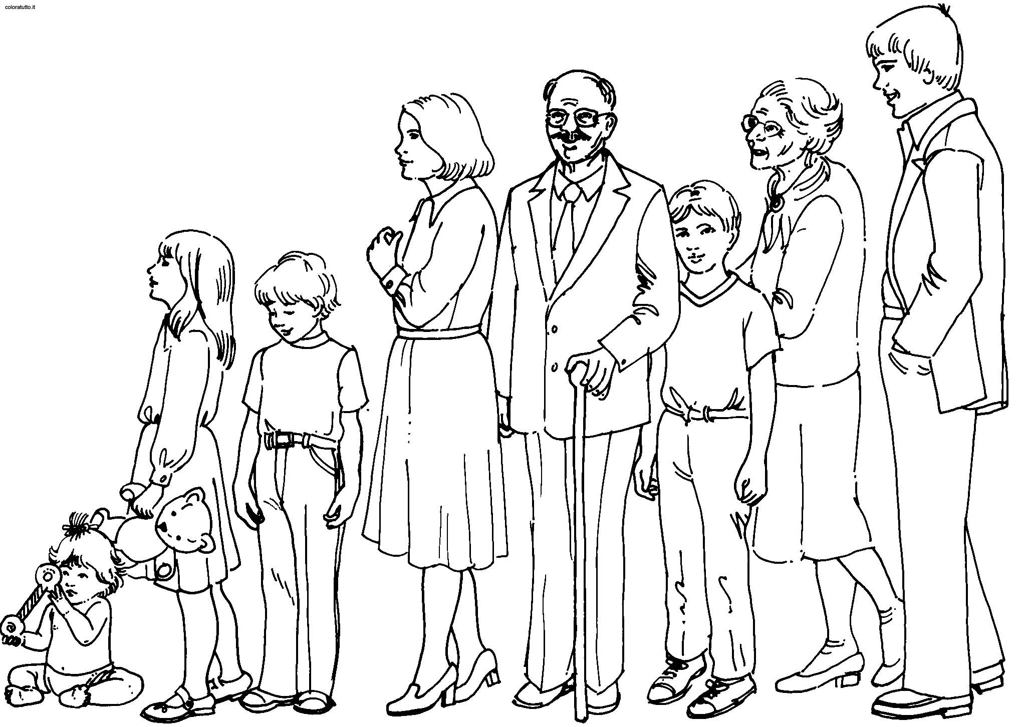 большая семья рисунок карандашом это тот архитектурный