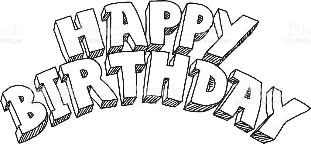 Днем, крутые рисунки карандашом на день рождения