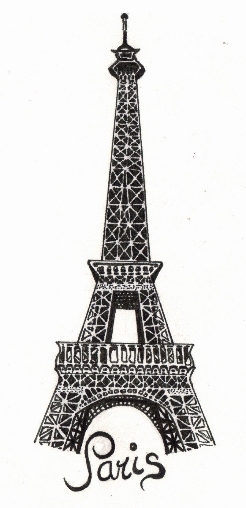Рисунок эльфивая башня