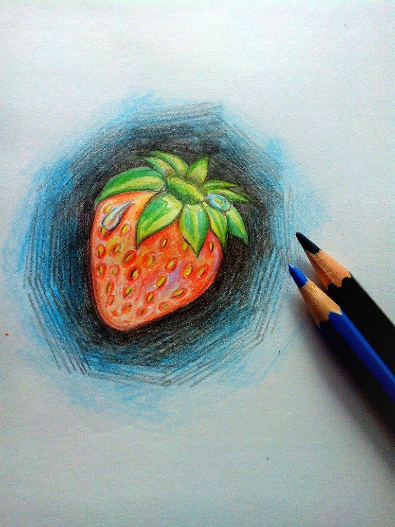 мишени красивые рисунки карандашом цветным простые командирский отличался