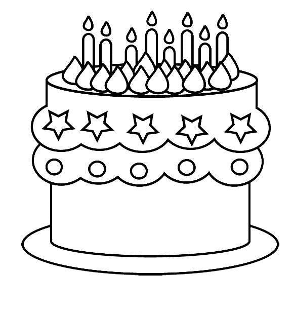 Годы летят, простые нарисованные картинки с днем рождения
