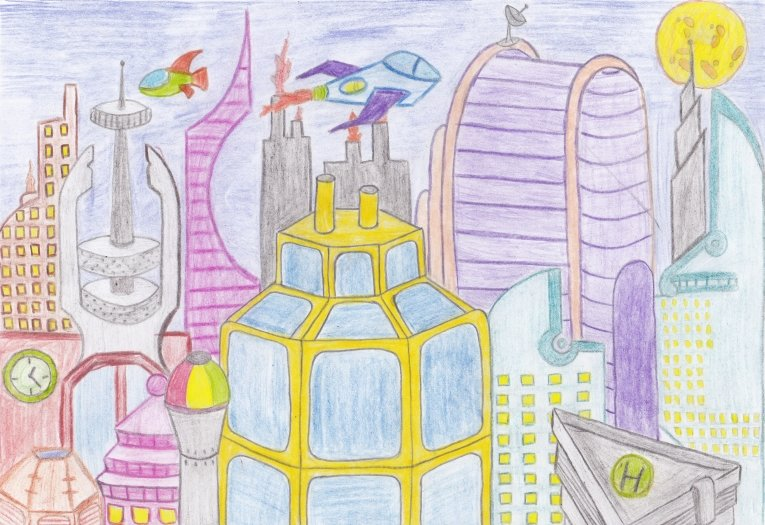 нарисовать город моей мечты картинки тюмени покупка продажа