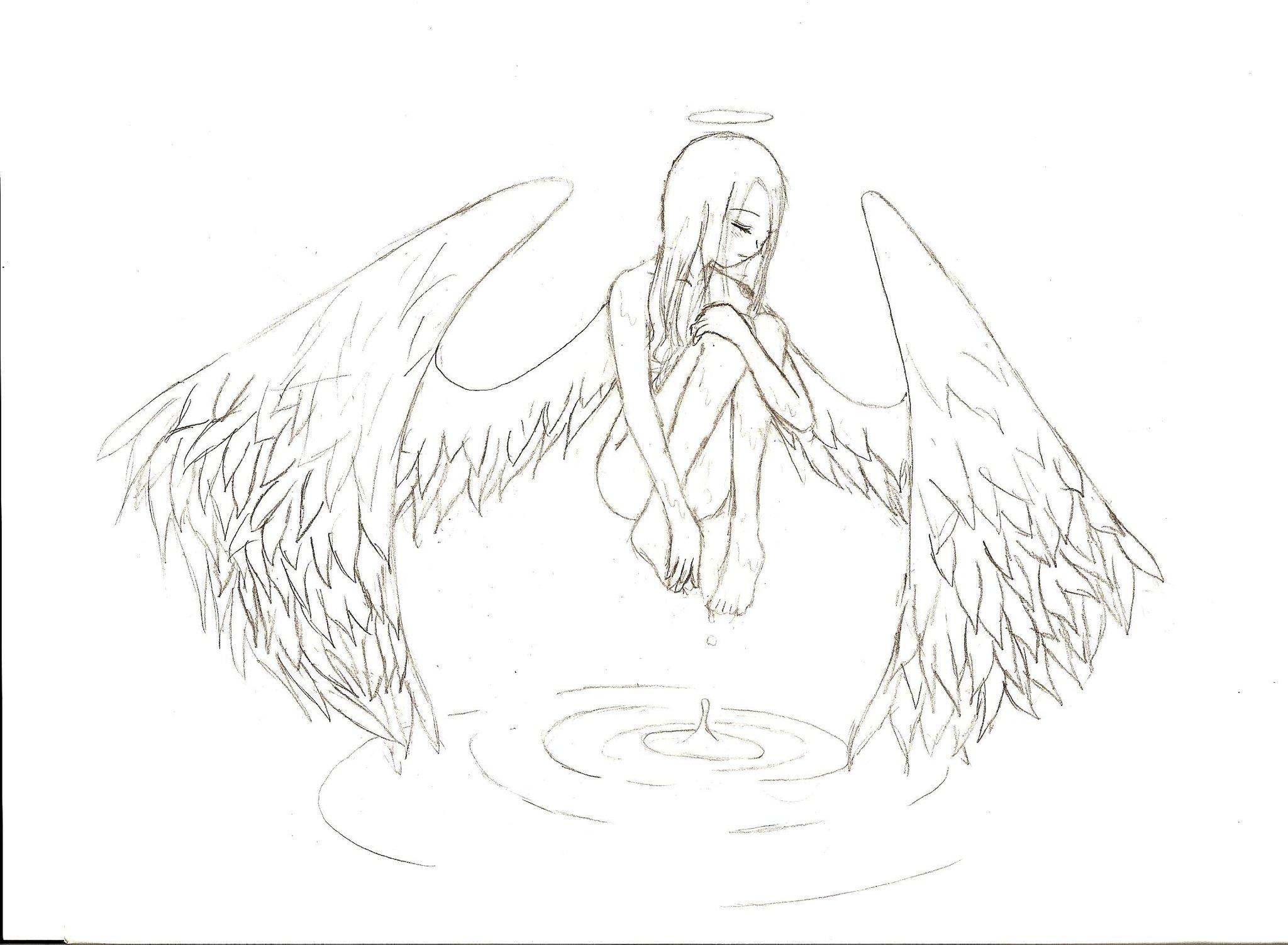 краснодарского картинки или рисунки ангелов карандашом его помощью можешь