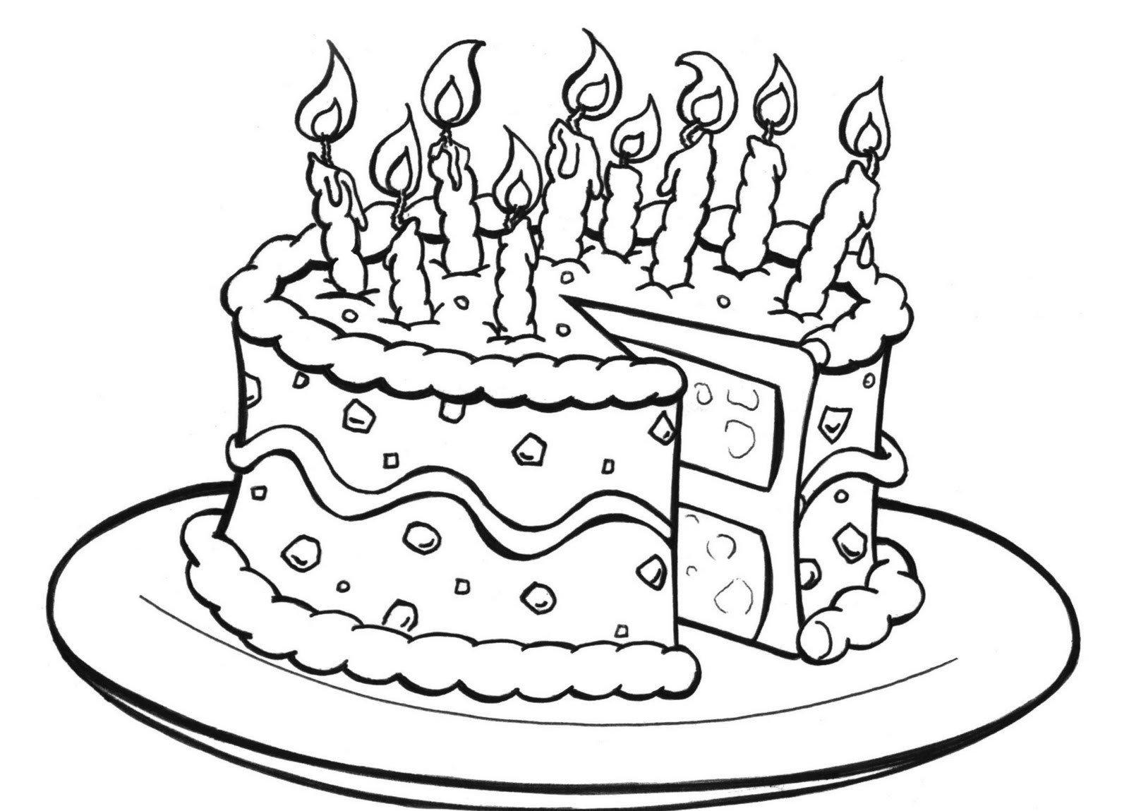 Раскраски на день рождения мальчику 4 года