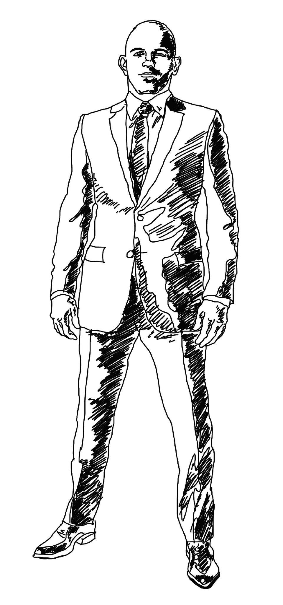 Человек рисунок карандашом в полный рост картинки