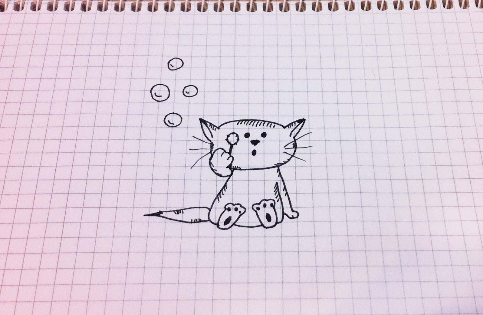День, рисунки на тетрадях карандашом прикольные