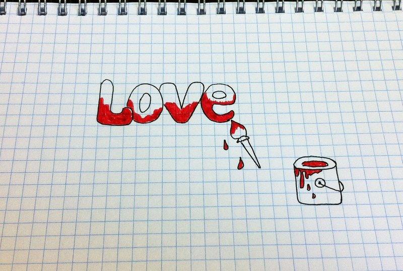 Рисунки в тетради карандашом