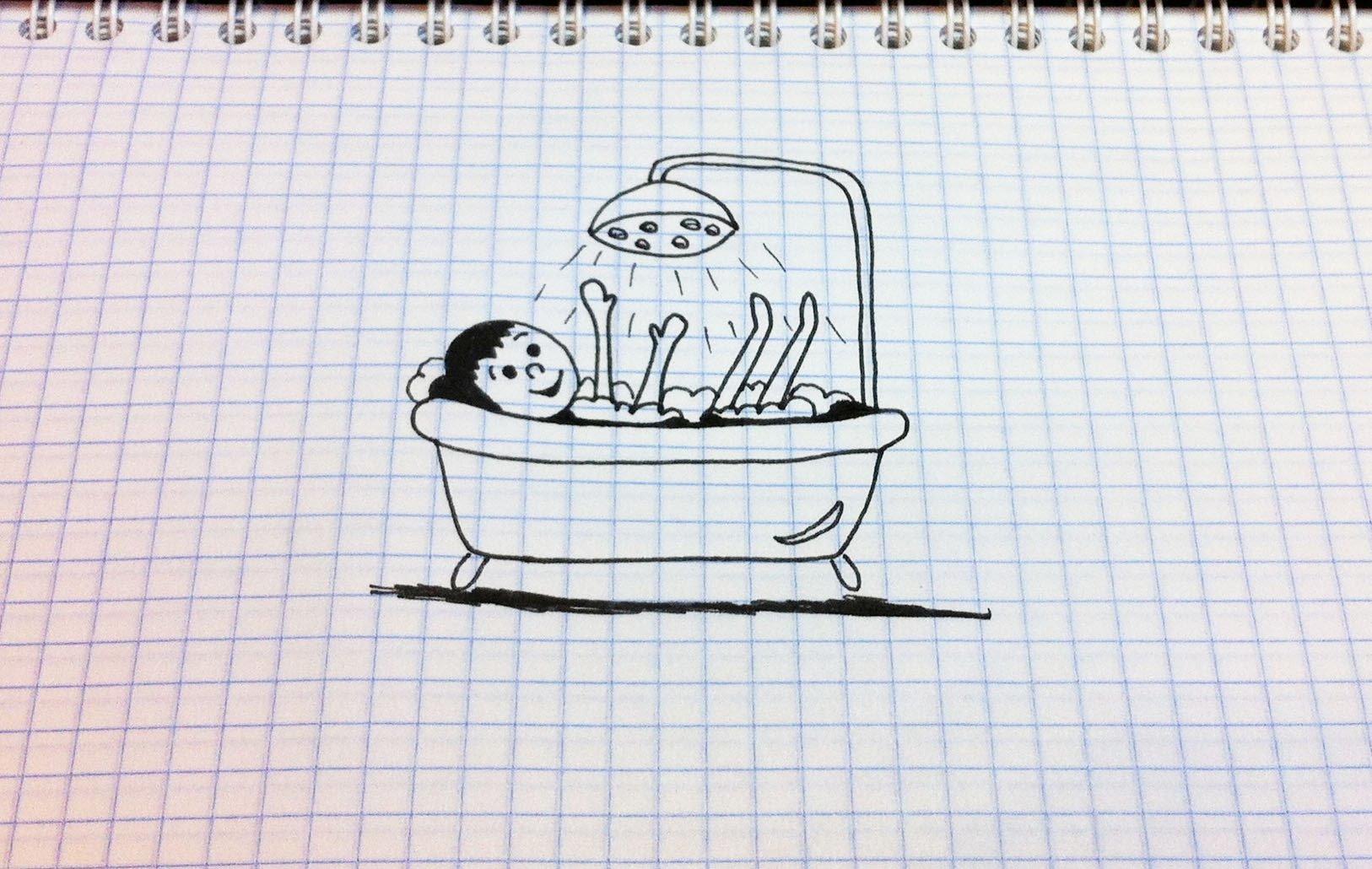Рисунки в тетради смешные, для