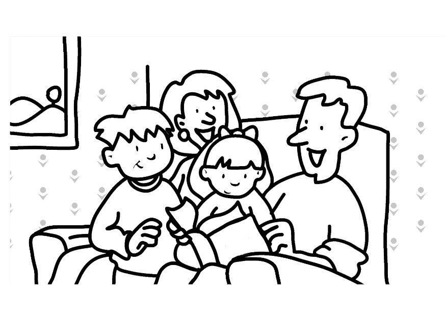 Для, рисунок выходные с семьей карандашом