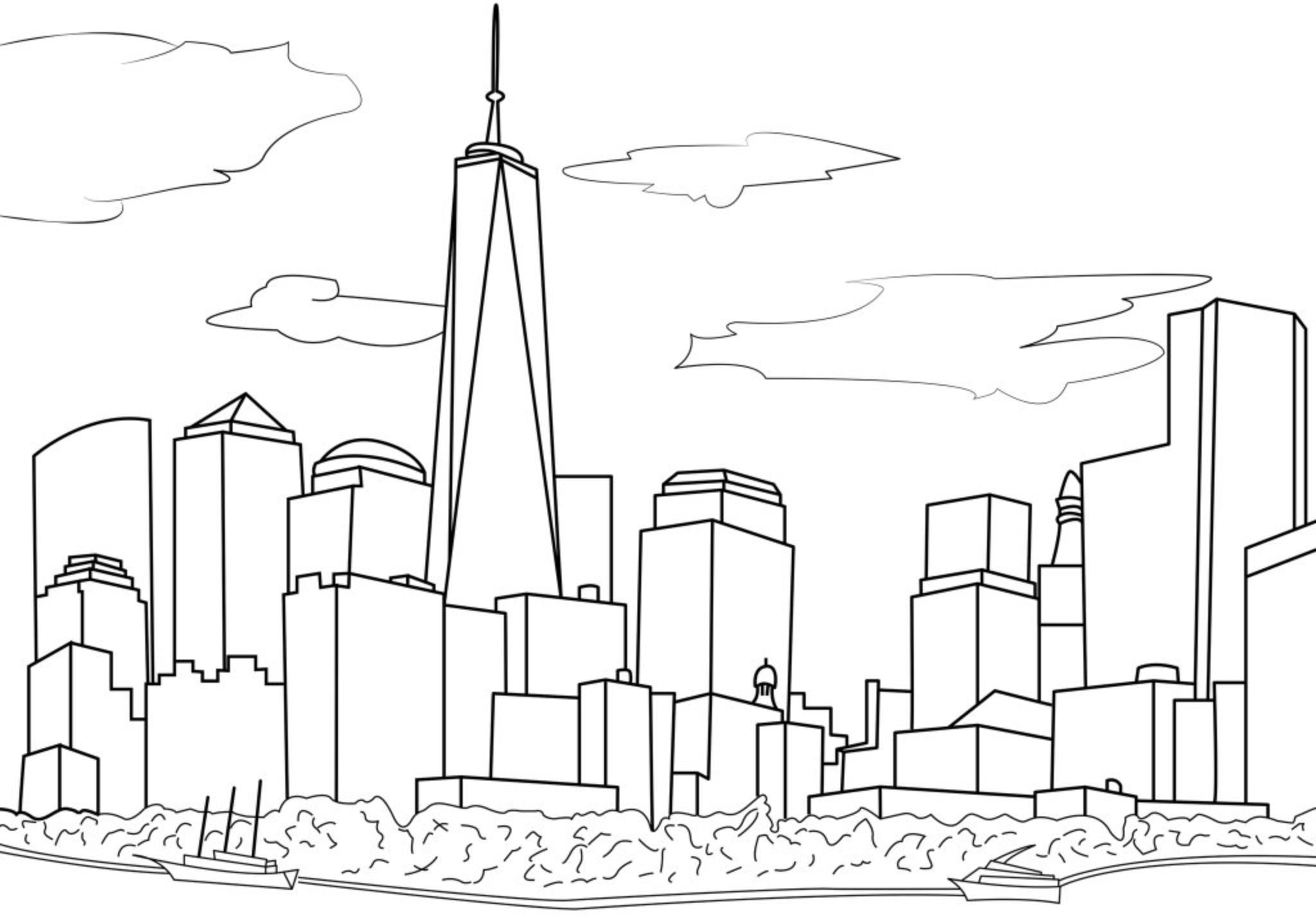 раздумывать картинки про город карандашом них есть регулируемые