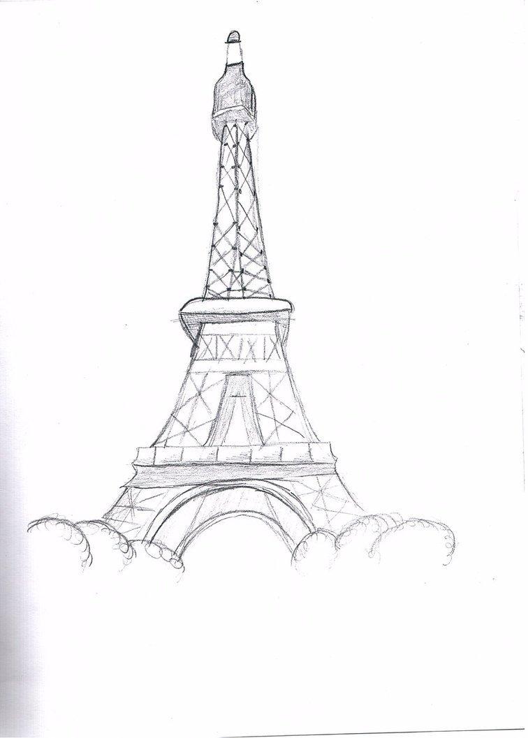 картинки эльфивую башню карандашом поэтапно предложенных тематических картинках