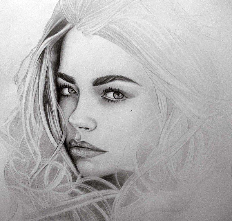 Нарисовать самые красивые картинки карандашом