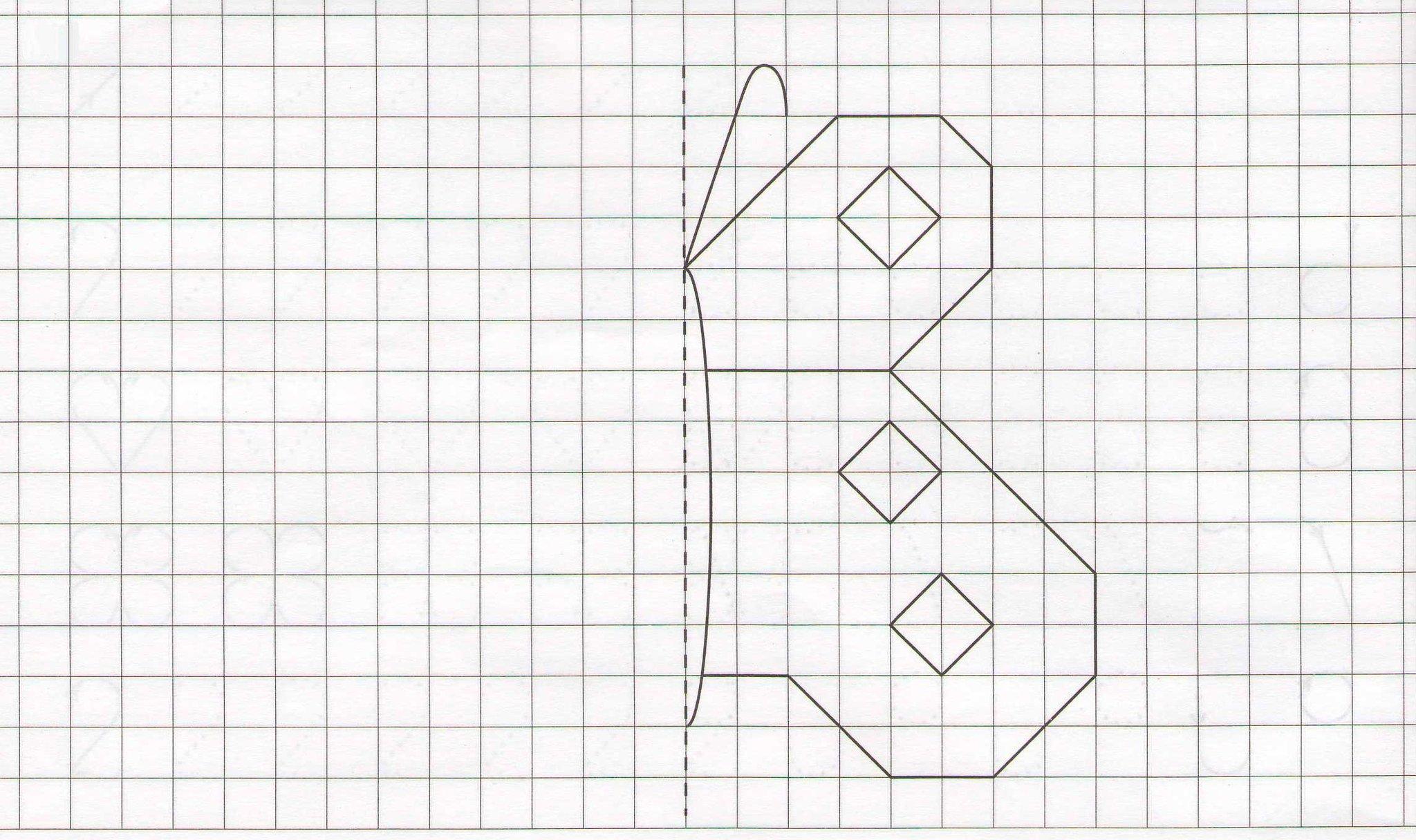 срисовать картинки карандашом по клеточкам модели также будут