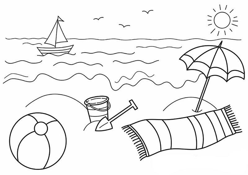 Рисунки карандашом про лето