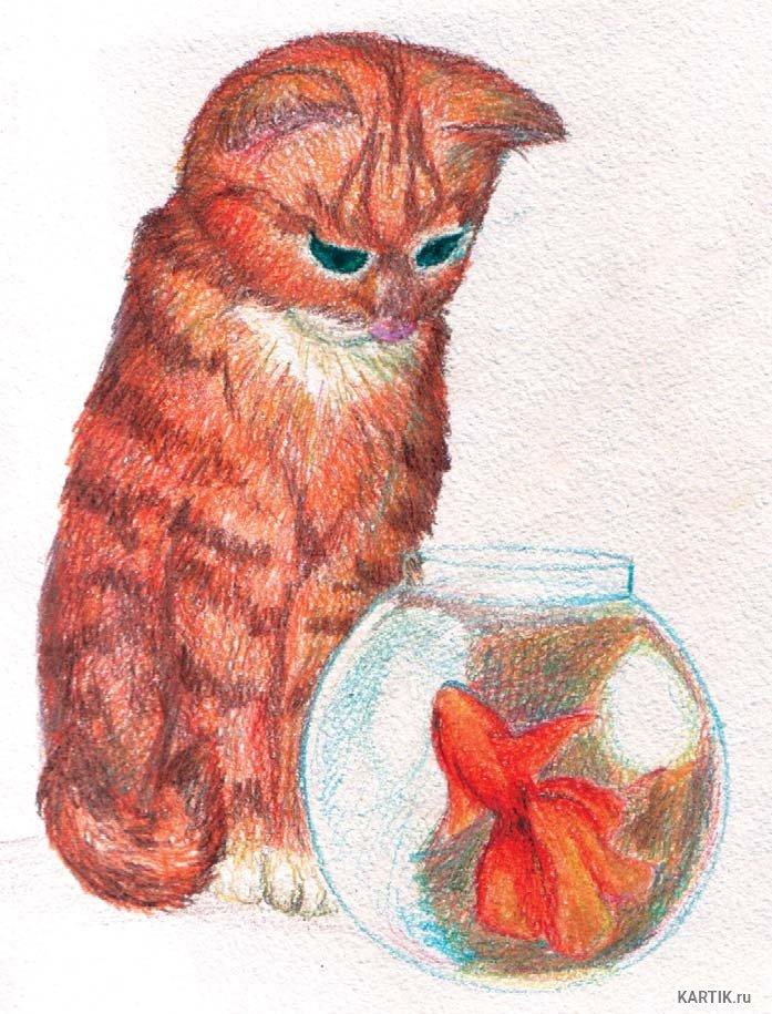 Умыслом жизни, прикольные рисунки карандашами цветными легко