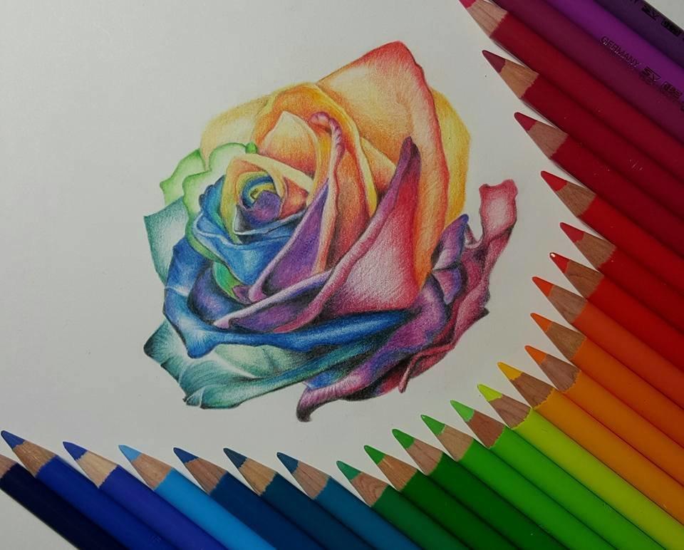 Картинки день, картинки цветным карандашом для срисовки
