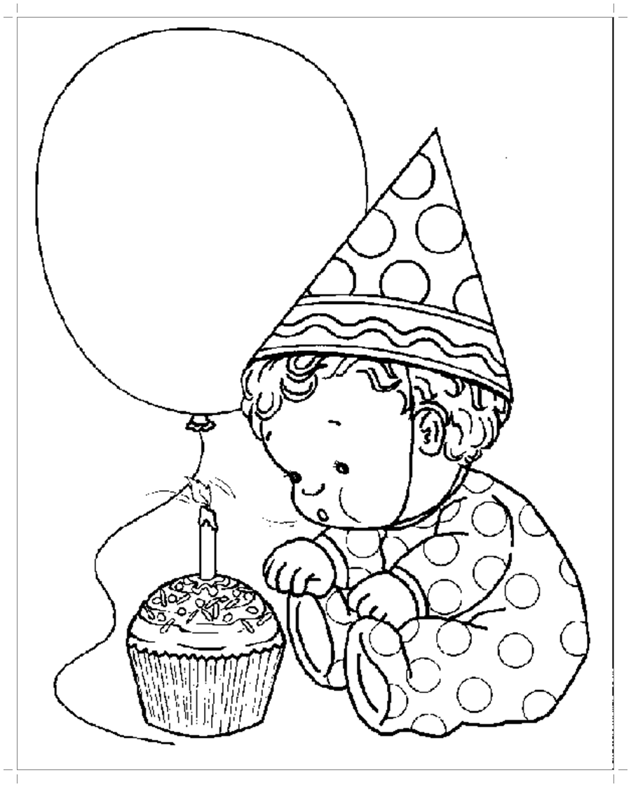 картинки карандашом про день рождения том, что поселение