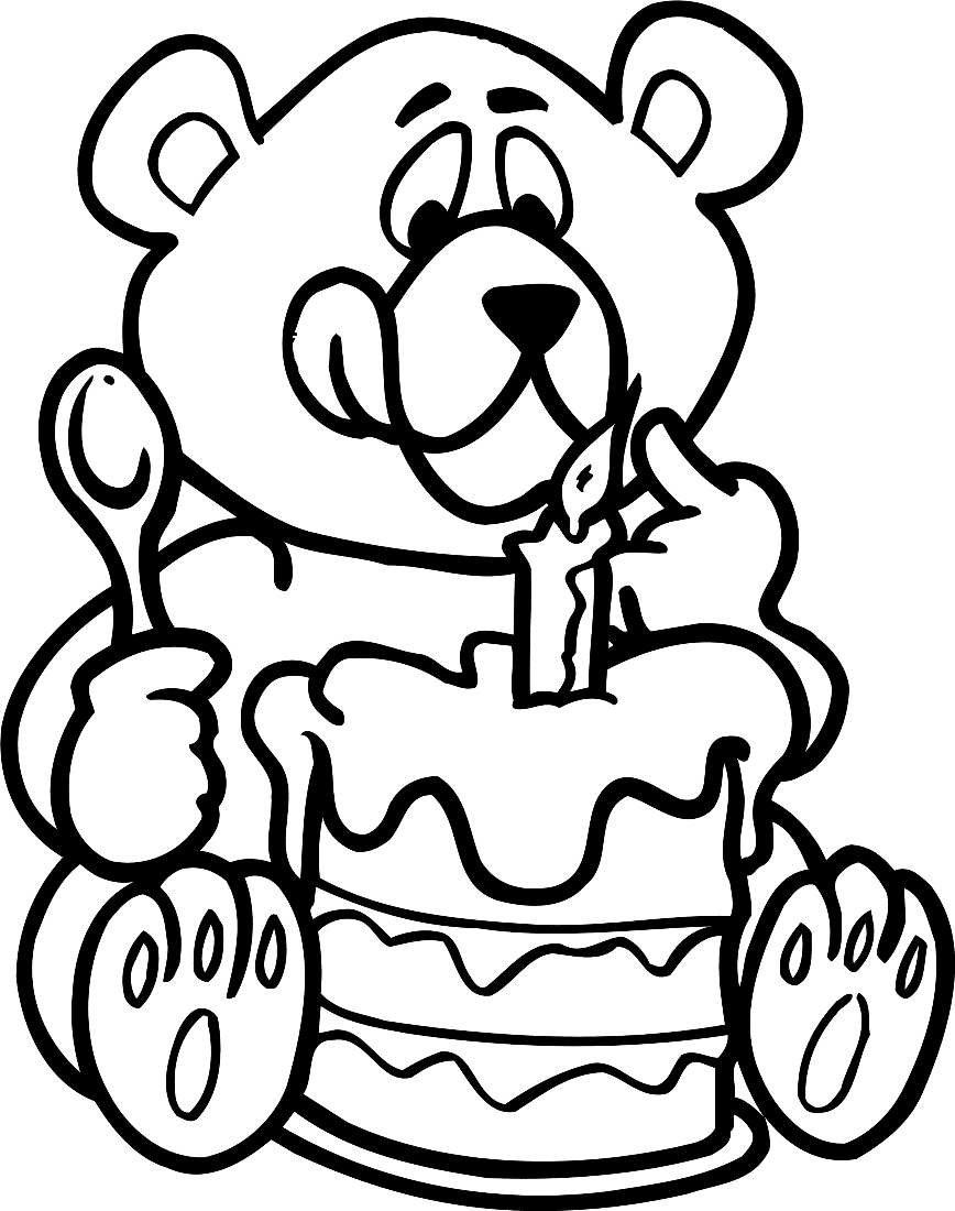 Картинки срисовать день рождения