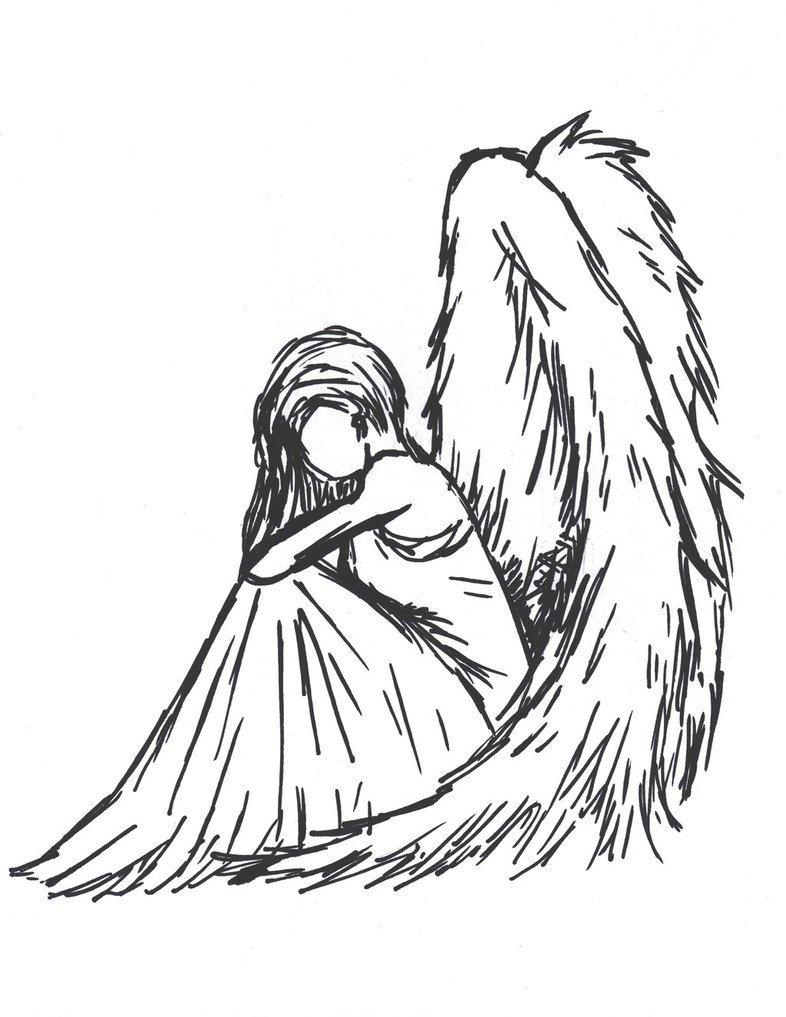 забывайте картинки карандашом нарисовать ангелов глазки сформировать