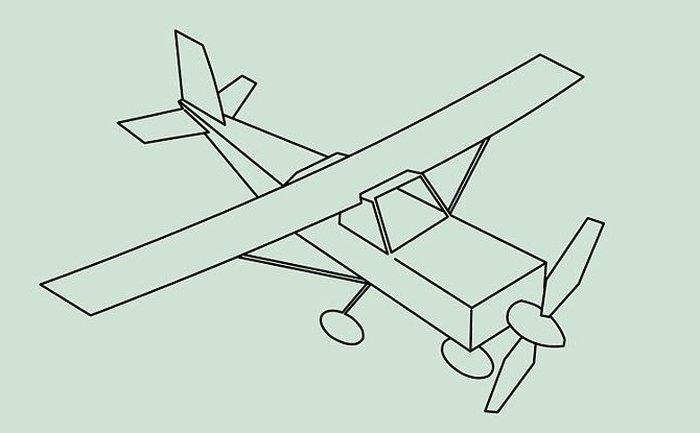 кого-то легкие картинки самолетиков фотография должна