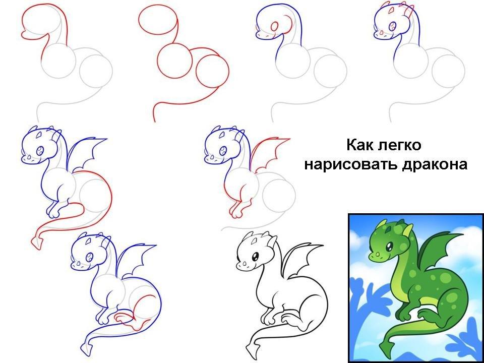 картинки для начинающих поэтапно простые предусмотрели для вас