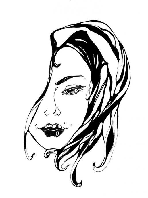 Красивые черно-белые картинки для рисования