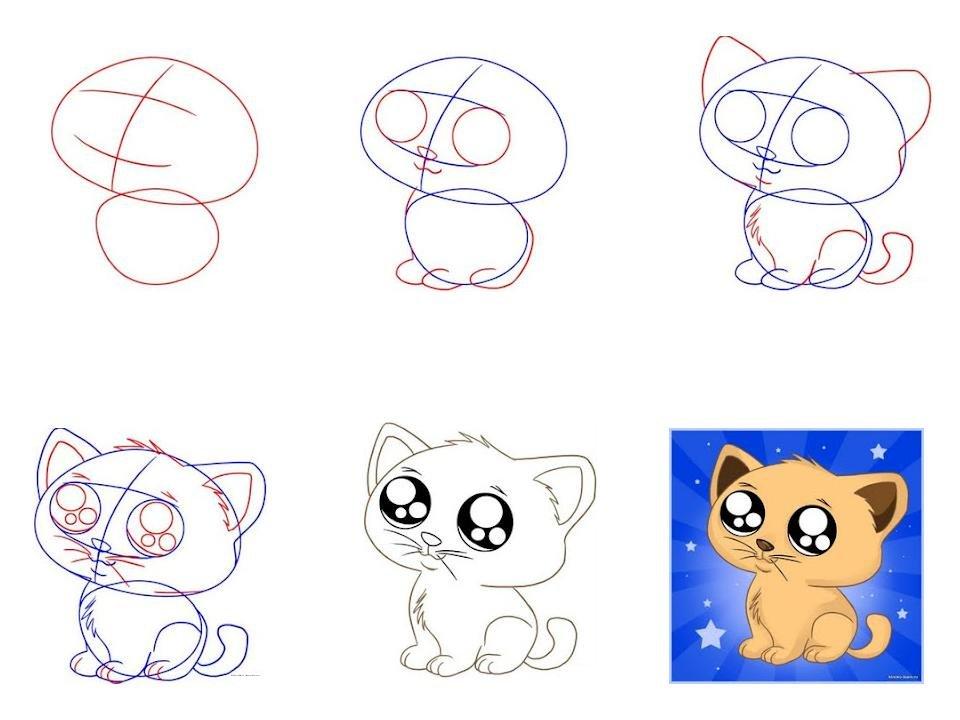 Новорожденным мальчиком, учусь рисовать карандашом для начинающих поэтапно картинки легкие