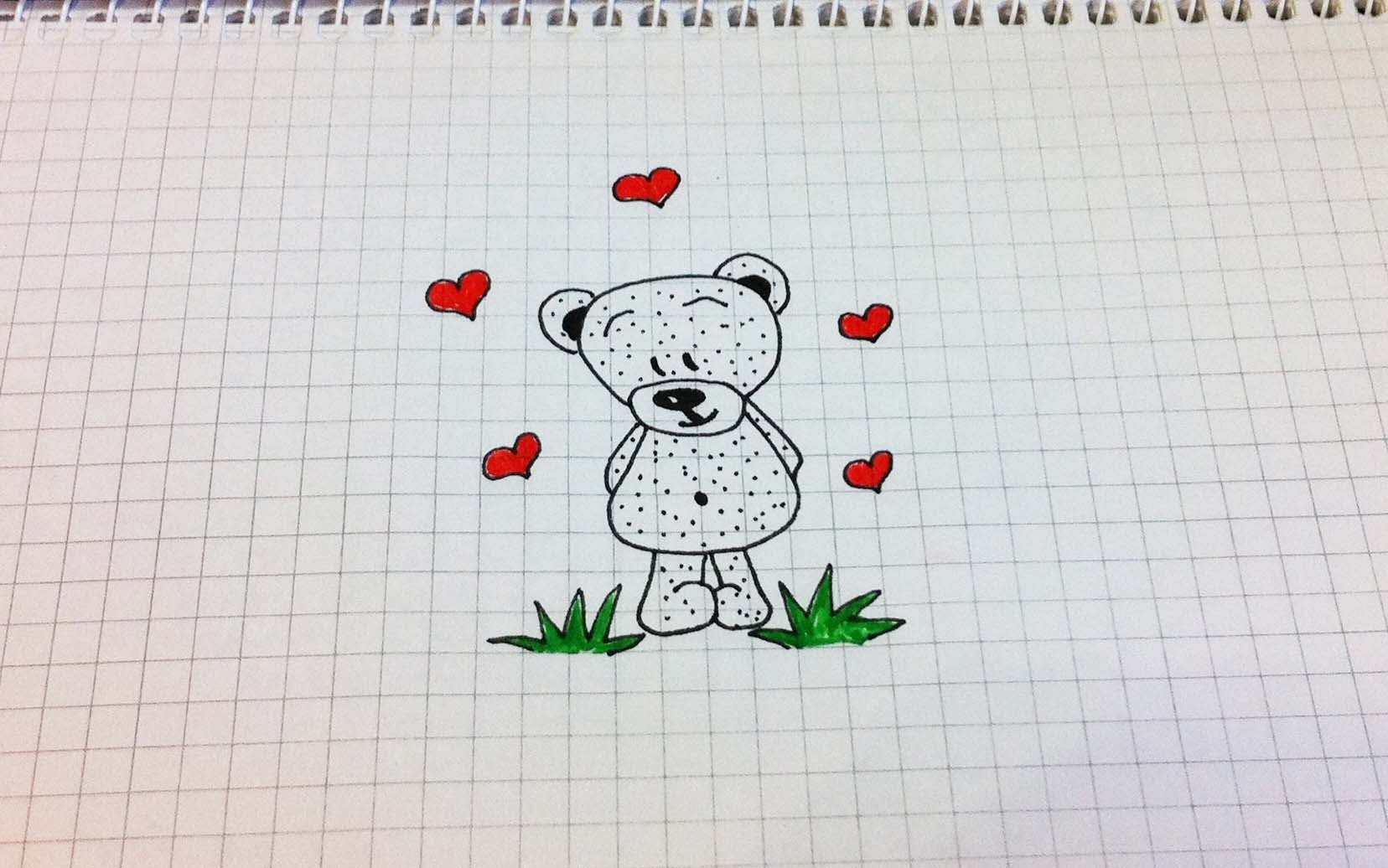 Бисера, самые прикольные рисунки ручкой