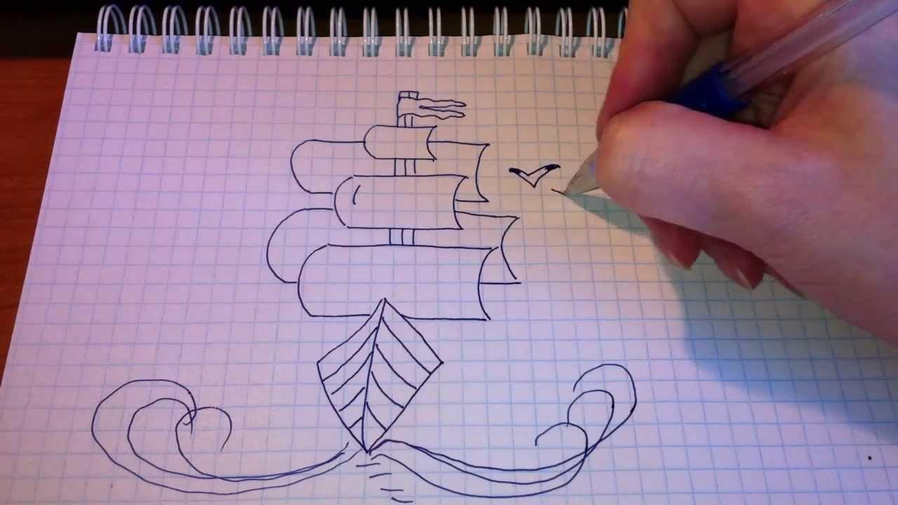 Рисунки простой ручкой легко этой странице