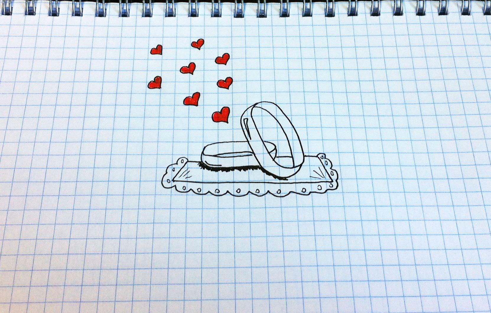 Картинки ручкой для начинающих простые