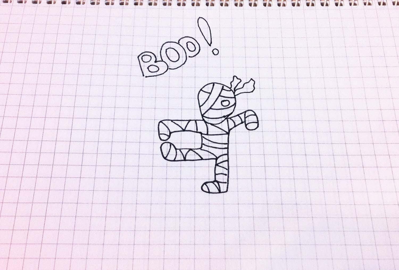 Рисунки простой ручкой легко это