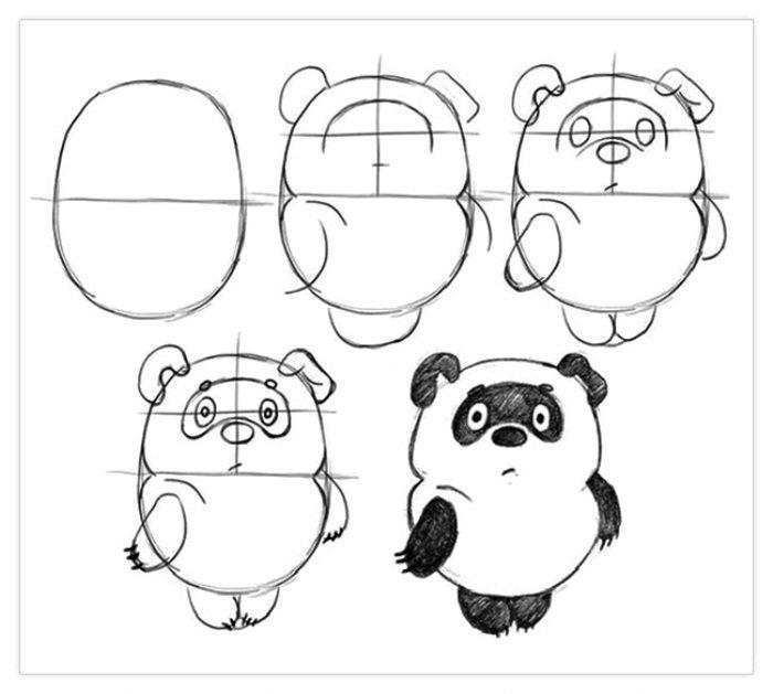 Рисование карандашом поэтапно для начинающих