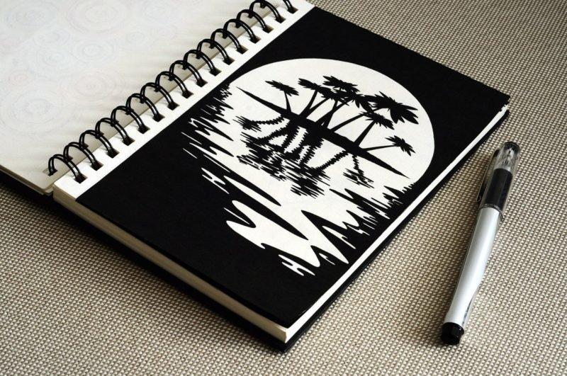 крутые картинки черной ручкой на магическую тему именно