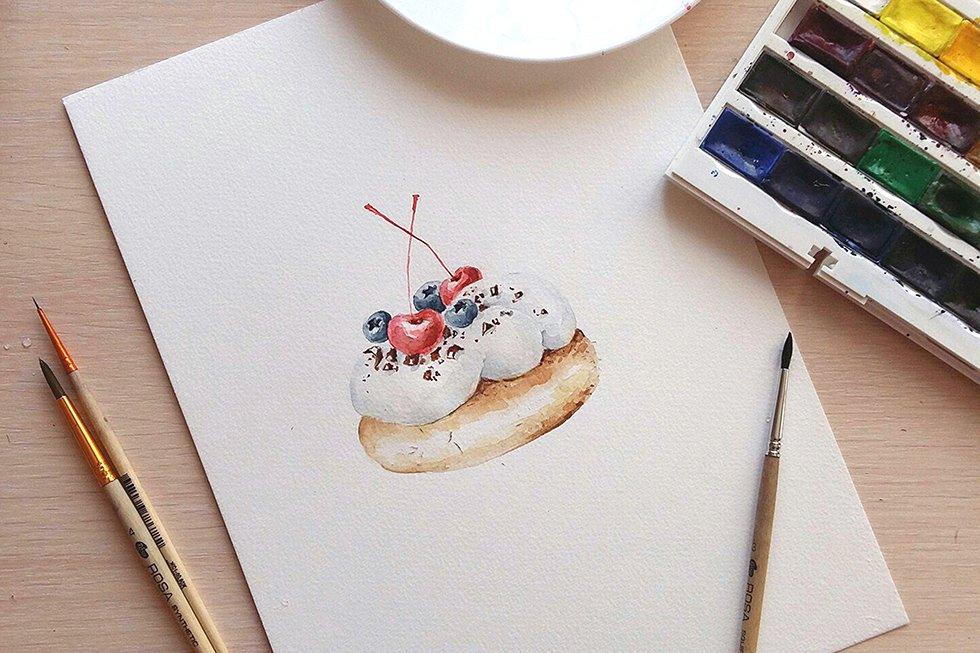 Картинки акварельными карандашами для срисовки легкие и красивые