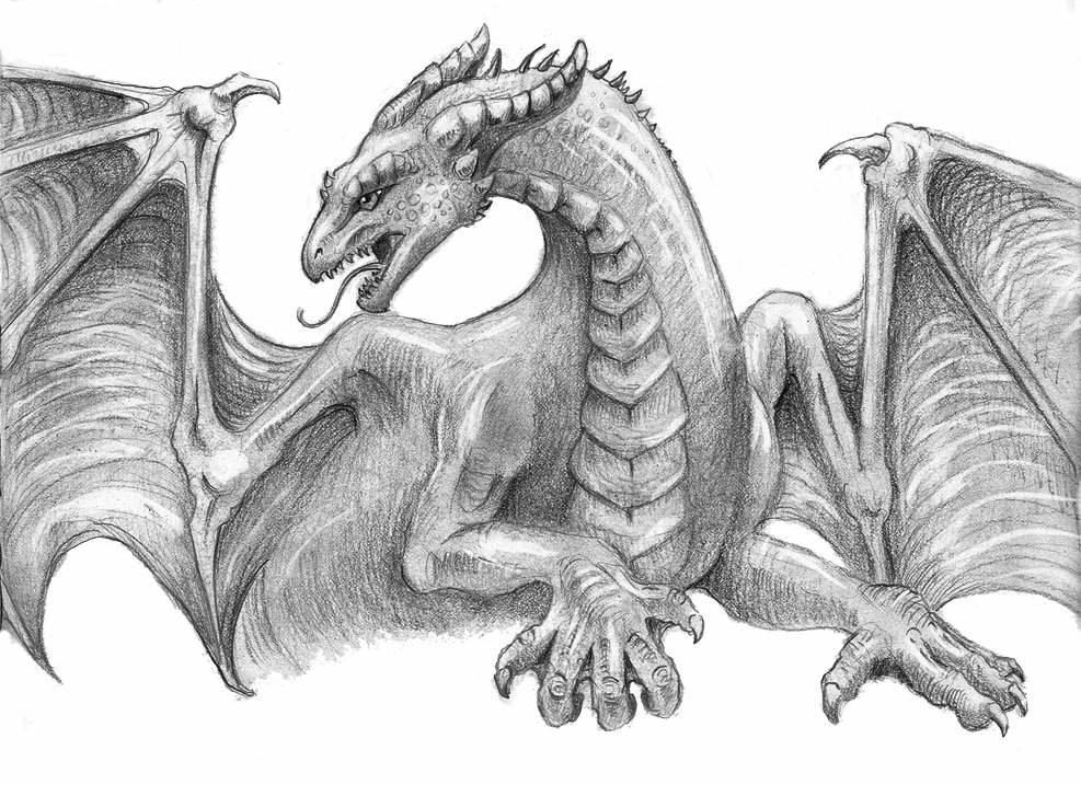 картинки драконов простых род деятельности производство