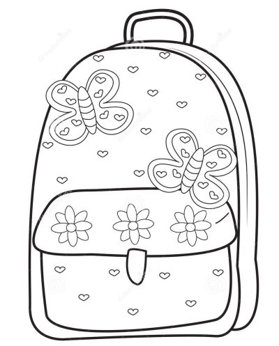 Рюкзак карандашом