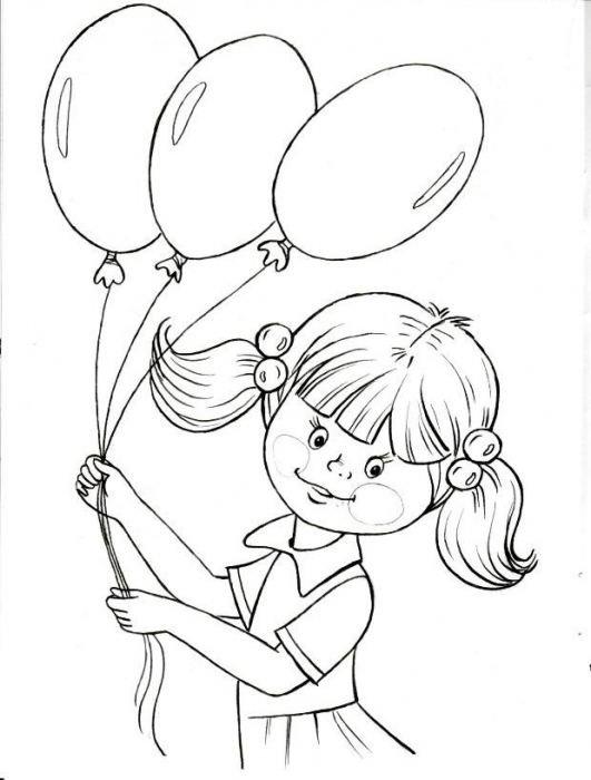 Фото, рисунок к дню защиты детей карандашом