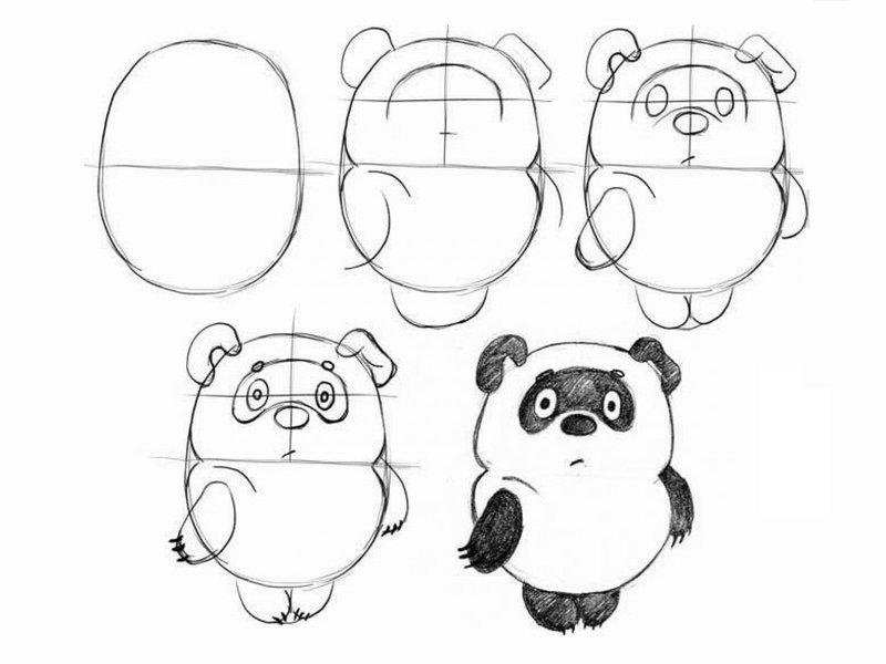 Рисунки карандашом для начинающих легкие