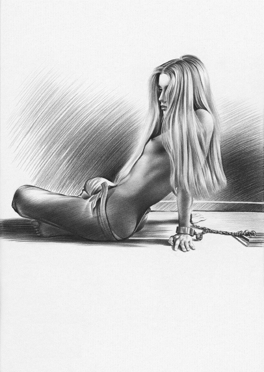 Красивая эротика карандашные рисунки