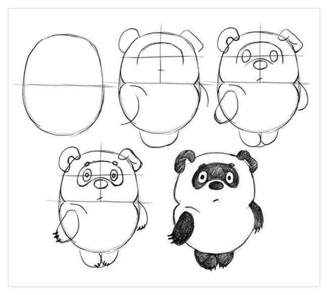 Рисунок для срисовки карандашом