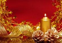 Свечка для новогоднего стола
