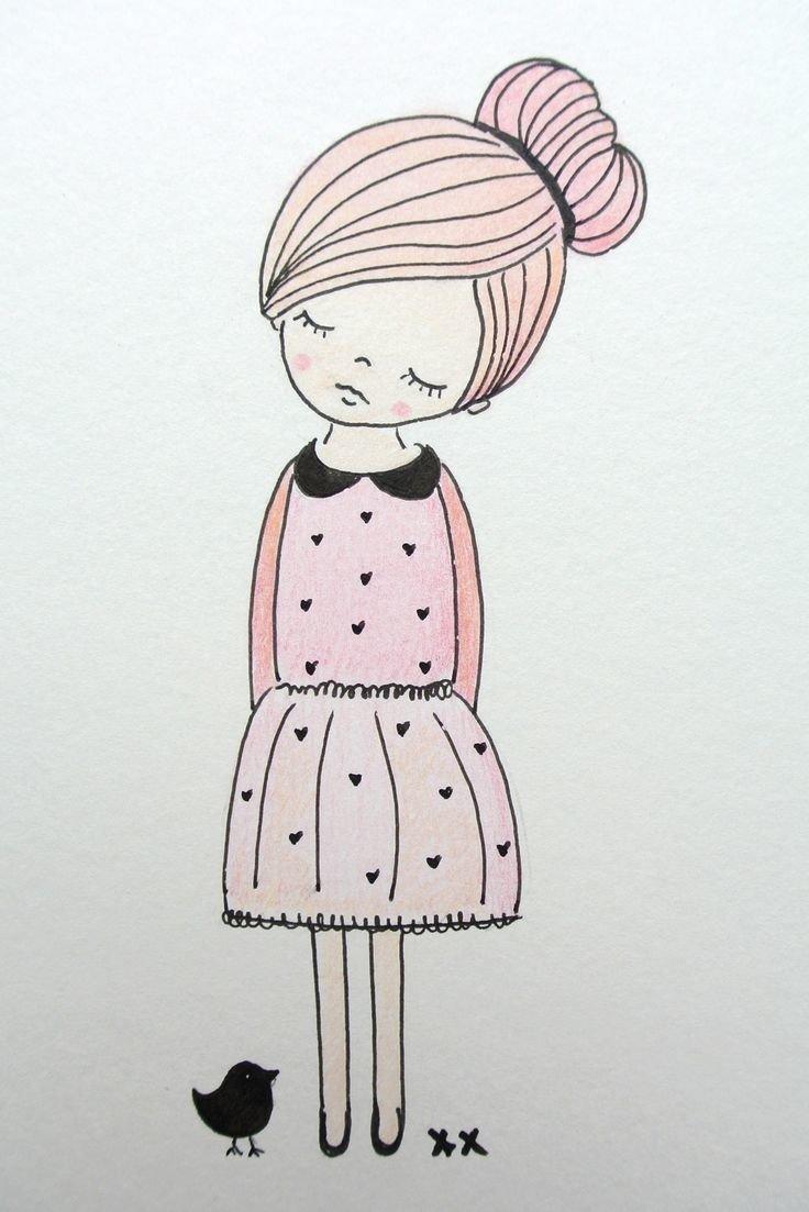 Детская открытка, милые картинки для детей для срисовки