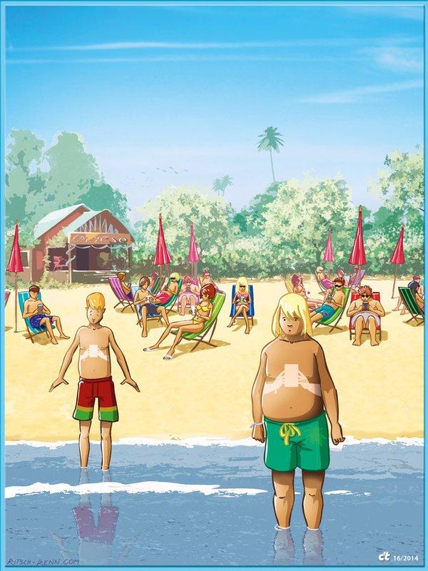 Прикольные картинки: лето пришло