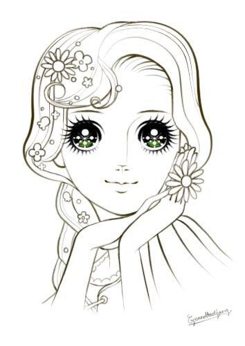 Девушка красивая карандашом