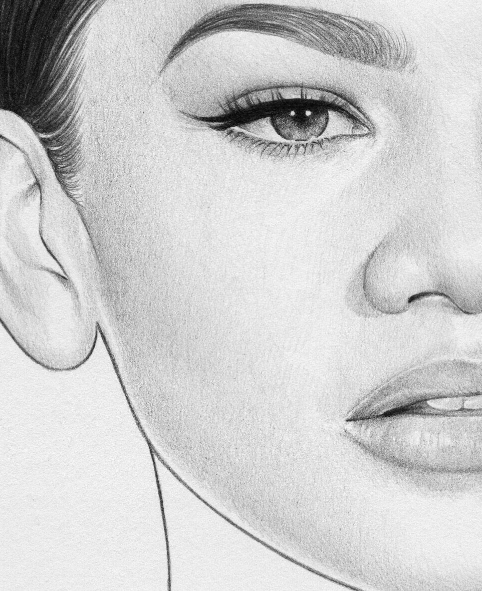 красивые картинки для рисования простым карандашом мизгирь согласно